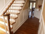 Recessed Panelled Wainscoting
