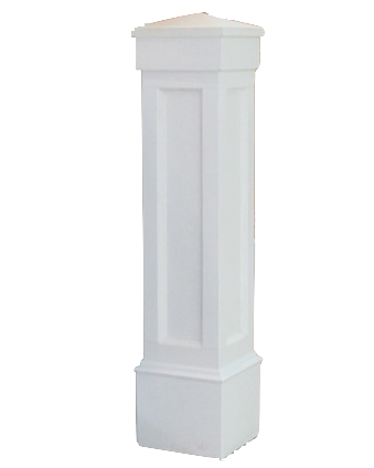 Pvc Newels Newel Posts And Newel Sleeve I Elite Trimworks