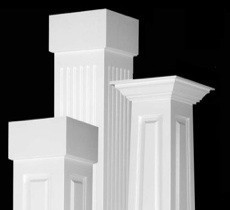 Pvc Column Wraps Column Covers Post Covers I Elite
