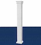 Hb g permacast columns fiberglass columns i elite trimworks for Hb g square columns