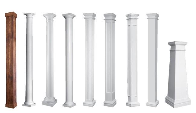 Crown Column Tuscan Cap /& Base Set