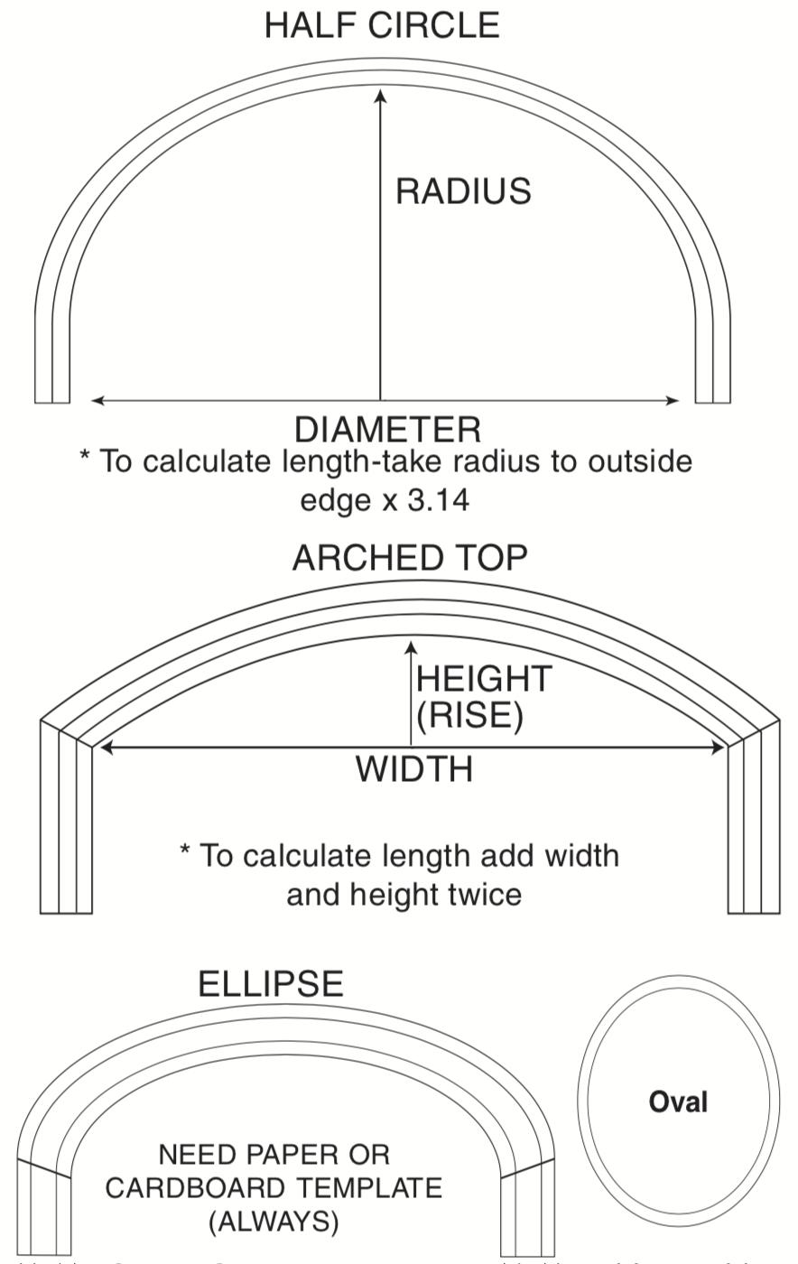 Flexible Casing Bendable Mouldings I Elite Trimworks