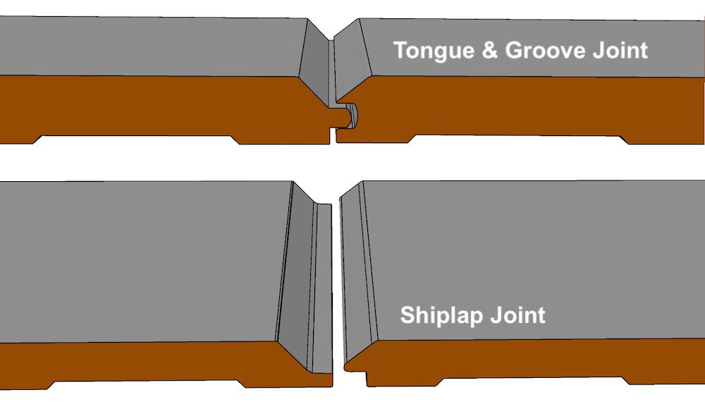 6 V Groove Plank Mdf Tongue Groove I Elite Trimworks