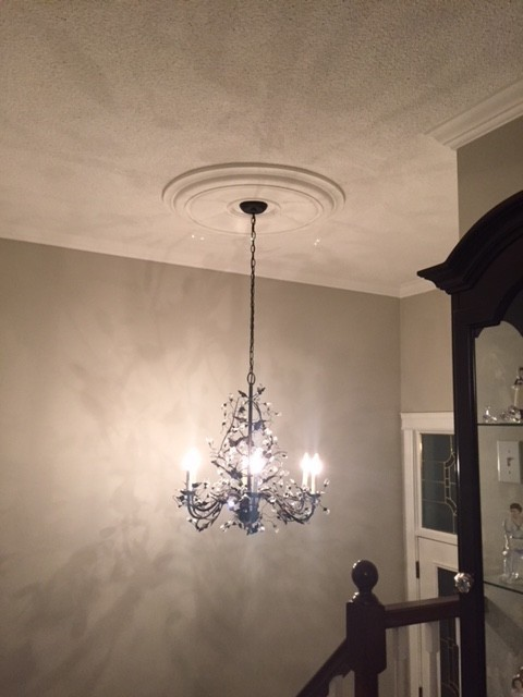 "Large 33"" Smooth Ceiling Medallion"