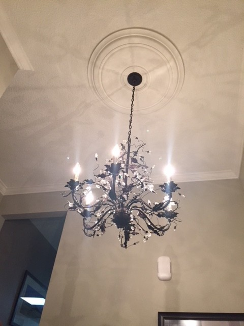 """how to install large ceiling medallions   Large 33"""" Smooth Ceiling Medallion I Elite Trimworks"""