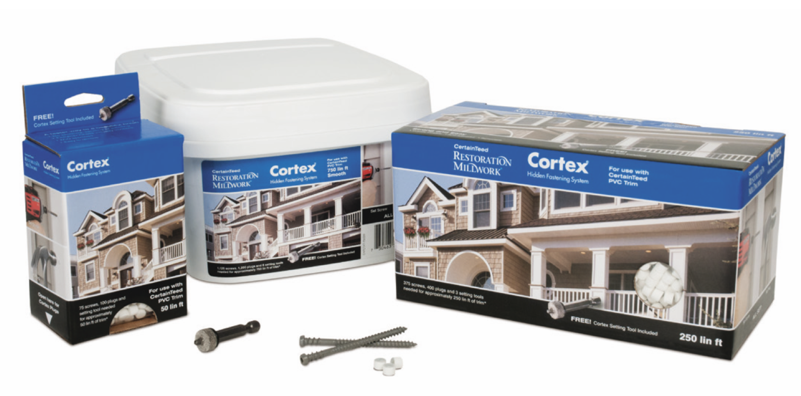 Cortex Concealed Fastening System - PVC Trim 50ft