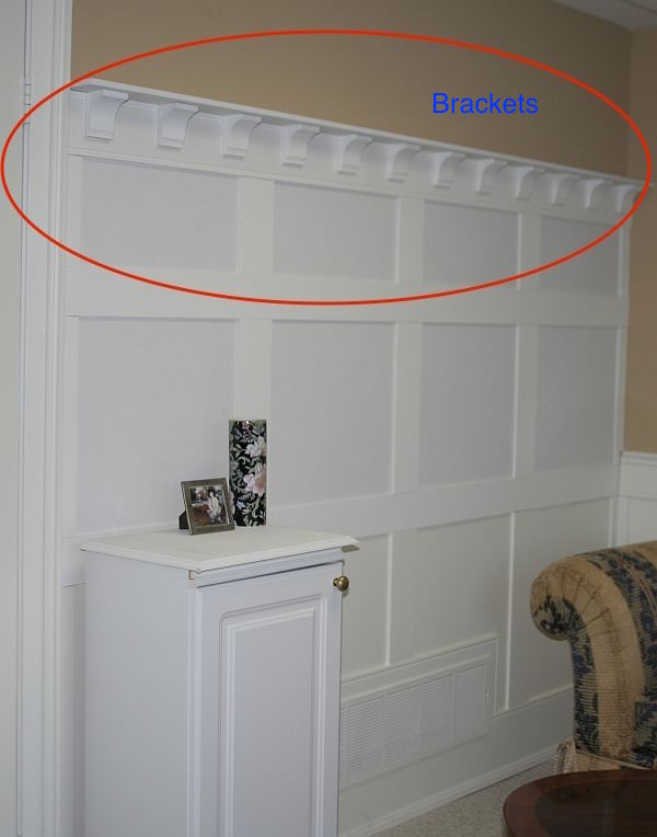 Popular Recessed Wall Panel Wainscoting Accent Wall Kit
