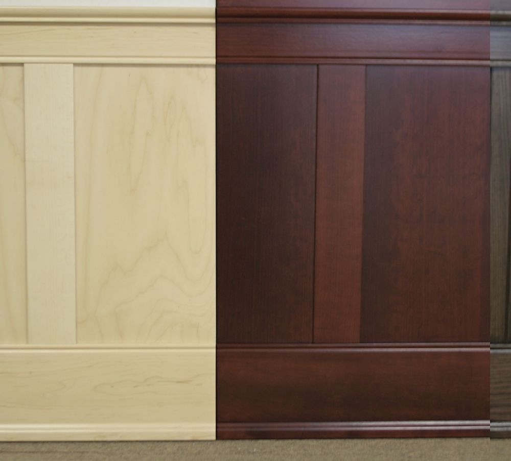 Hardwood, Maple Wainscoting Kit 8' High