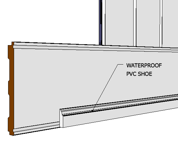 "Elite Wide Plank Wainscoting Kit 40"" High"