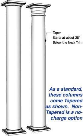 Round Column Poplar I Elite Trimworks, Round Wood Columns