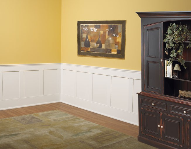 "Elite FLAT Paneled Wainscot Kit 37"" high"