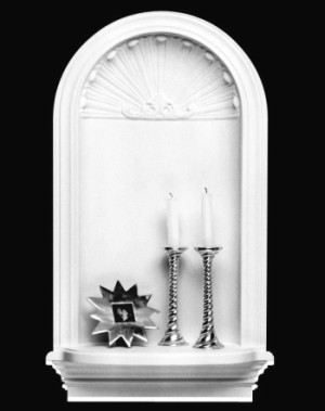 "Decorative Art Niche, 32 1/2"" High"