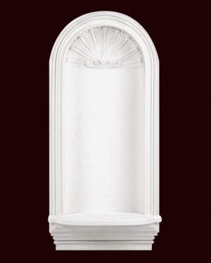 "Decorative Art Niche, 40 5/8"" High"