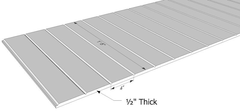 v grooved pvc soffit 20 x 12 i elite trimworks