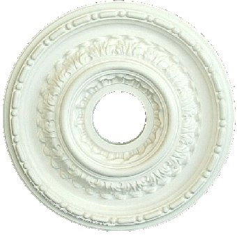 "Bead & Barrel 16 7/16"" Ceiling Medallion"