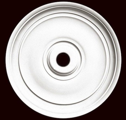 "Smooth 24"" Ceiling Medallion"