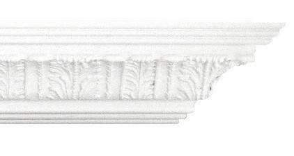 "7"" MDF Cornice with Acanthus Leaf 14ft"