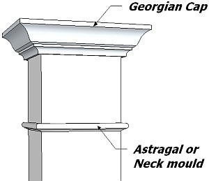 Square Georgian Capital and Astragal Upgrade