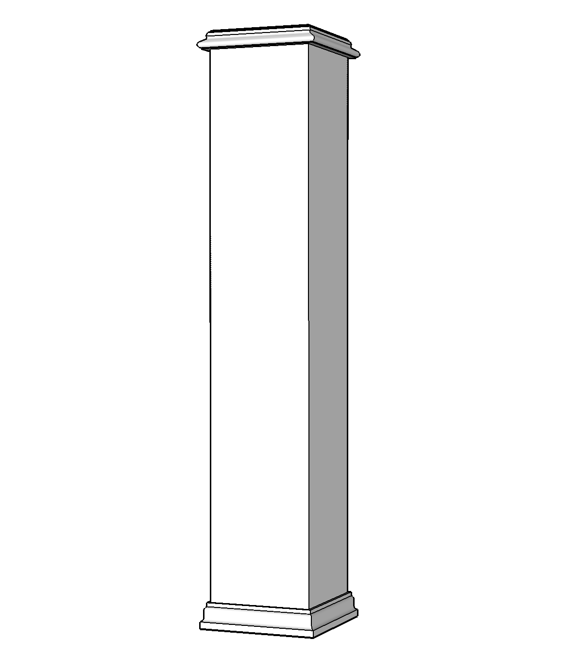 PVC Newel Post