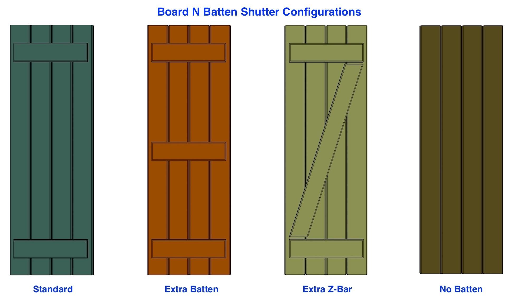 Board n batten shutters pvc pair i elite trimworks for 18 inch wide exterior shutters