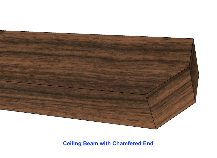 Rough Sawn Beam 8""