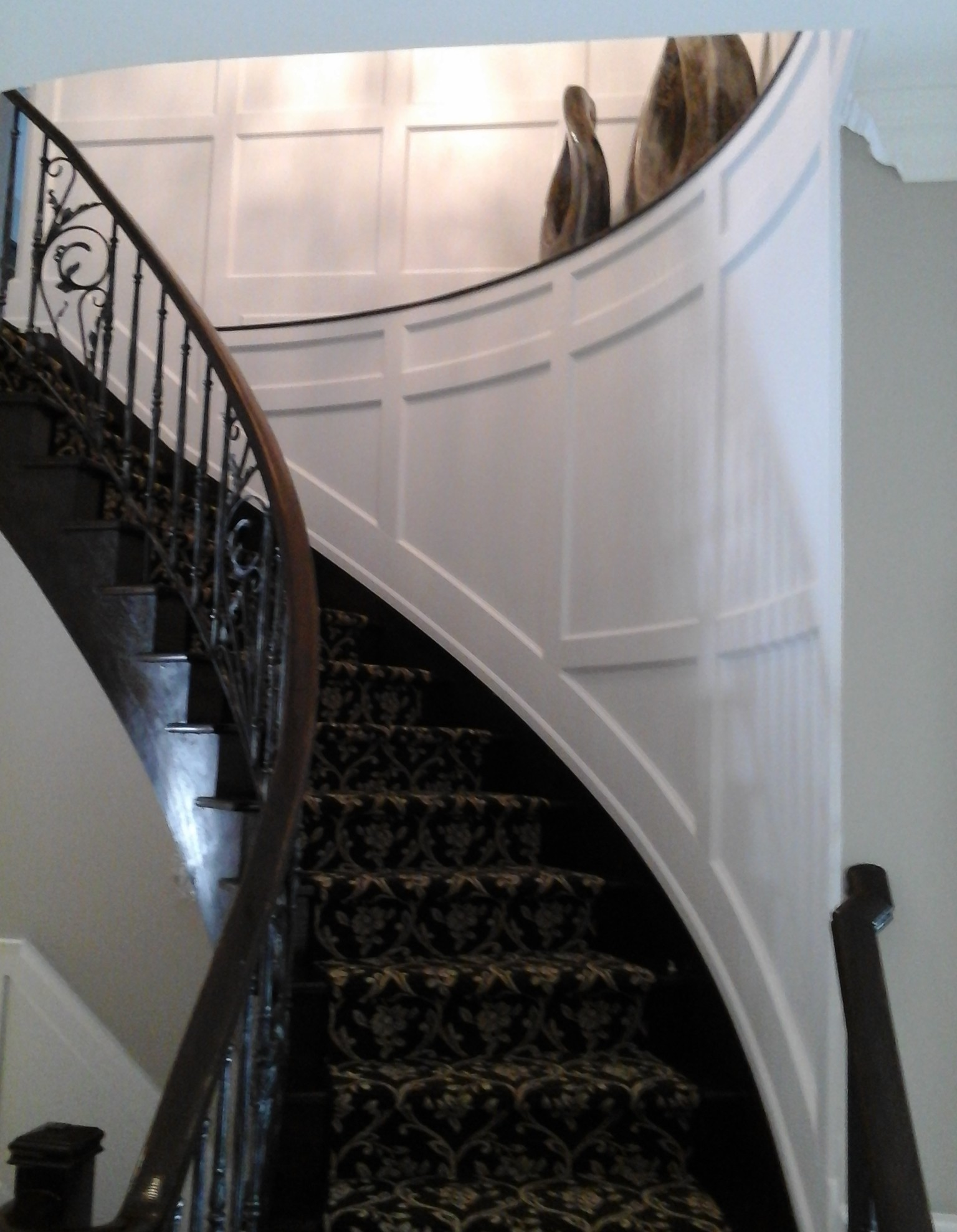 Picture of: Recessed Wall Paneled Flexible Stair Kit I Elite Trimworks