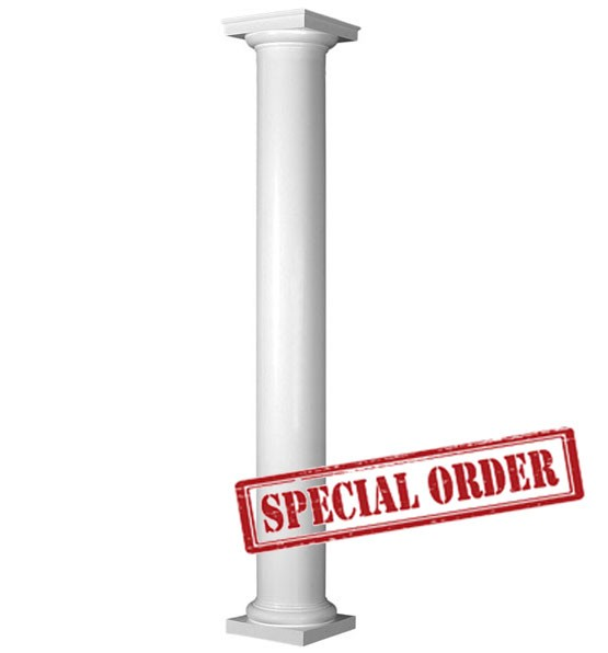 "HB&G 12"" Round, Non-Tapered PermaCast Column"