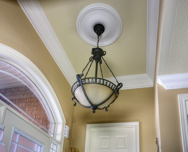"Contemporary Pearl 24 1/2"" Ceiling Medallion"