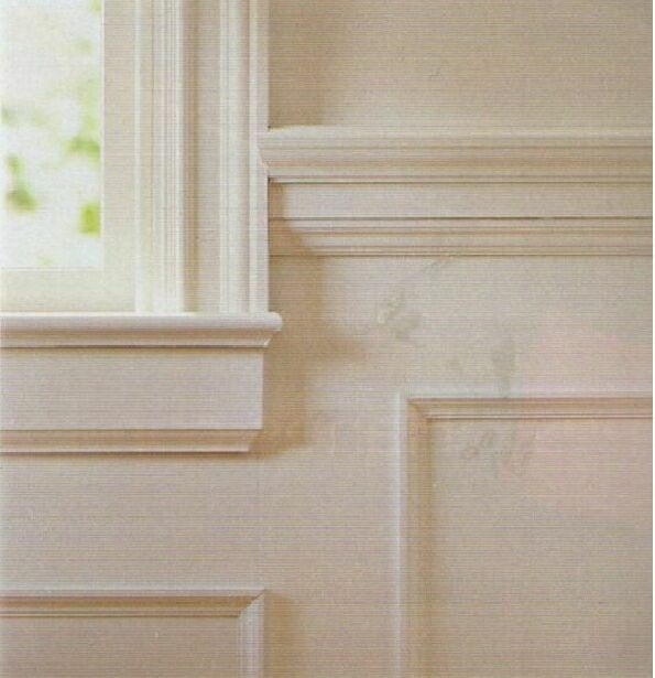 Chair molding height - Not Applicable For Elite Paneled Wainscoting