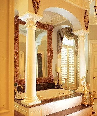 Capitals and bases gallery i elite trimworks for Decorative wood columns interior