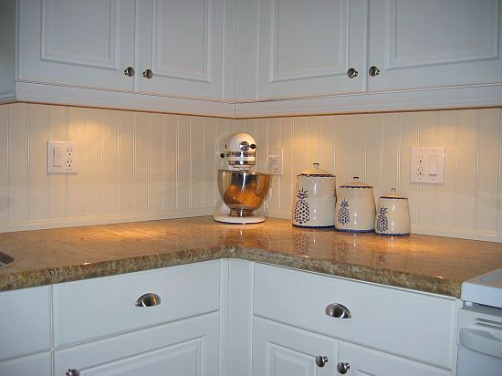 Back Splash Beadboard Gallery I Elite Trimworks