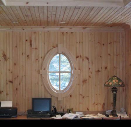 Knotty Pine V Board And Trims I Elite Trimworks