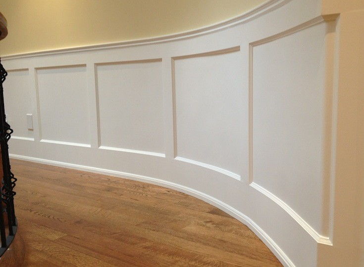 Cured Wainscoting