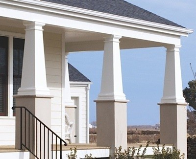 Craftsman permacast i elite trimworks for Hb g square columns