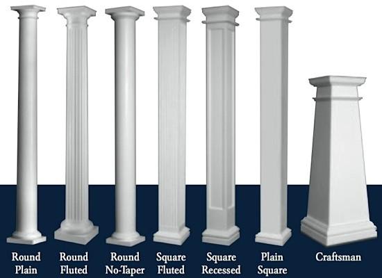 Hb G Permacast Columns Fiberglass Columns I Elite Trimworks