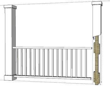tips and best practice for installing pvc column wraps i elite trimworks. Black Bedroom Furniture Sets. Home Design Ideas