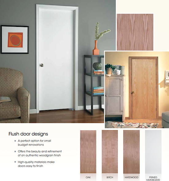 Flush doors have no paneling constraints so they can easily be made in any size. We only list the paint grade variety on this page but many stain grade ... & Flush Doors I Elite Trimworks