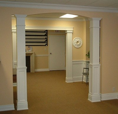 Square Columns Are More Common In Modern Homes And A Great Alternative To The Round Hollow Therefore They Not Load Bearing