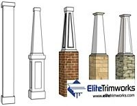 High Quality Architectural Structural Columns Fiberglass Columns I Elite