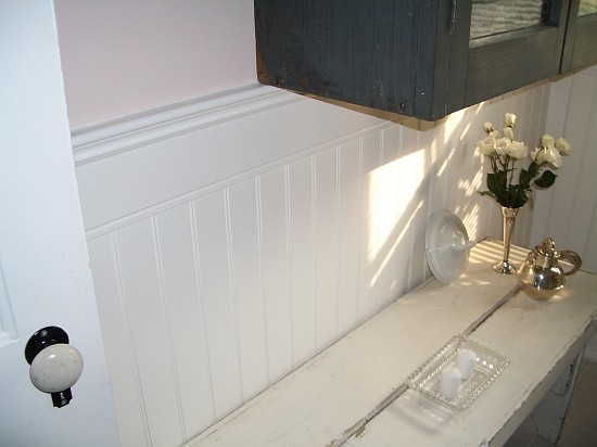 Beadboard Wainscoting Bathroom
