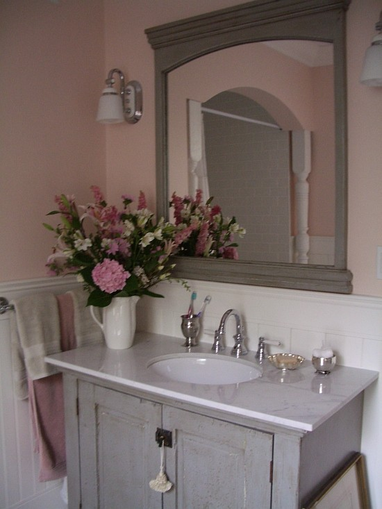 I recently installed the Regency Panels on the back wall of my downstairs  bath/powder room. Installation was easy. I didn't use any of the touch-up  paint I ...