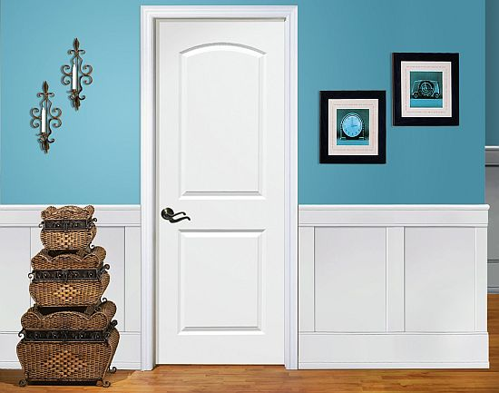 This is our inexpensive easy-to-install customizable wainscoting with a twist. It uses the same stiles and rails as our legendary Raised Panel Wainscot ... : wainscoting door - pezcame.com