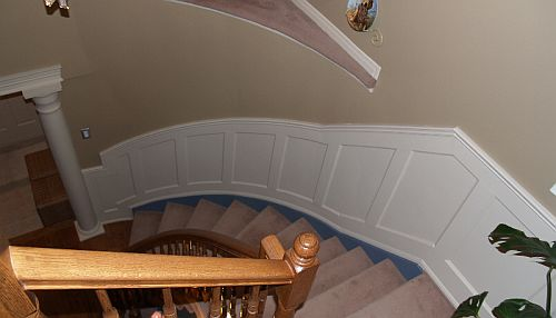 wainscoting packages for stair cases i elite trimworks
