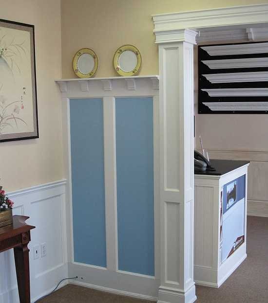 Tall Wall Paneled Wainscoting Gallery I Elite Trimworks