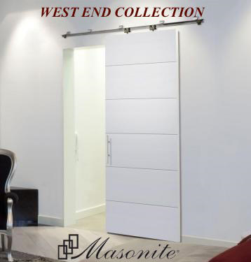 Masonite West End Doors on paint interior design gallery