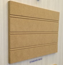 Standard-Bead Sheet in Raw MDF