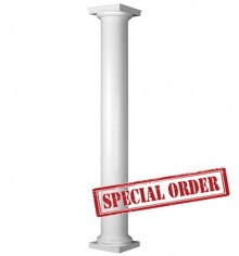 "HB&G 8"" Round, Non-Tapered PermaCast Column"