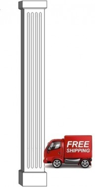 "10"" FLUTED PVC Column"