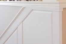 Elite RAISED Panel Wainscoting STAIR Kit - Paint Grade