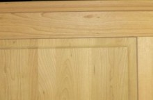 Hardwood RAISED Panel Wainscoting STAIR Kit with Panels